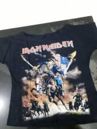 Camisetas Feminina banda de rock