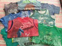 Lote roupas Tam. 10/12 R$ 50,00