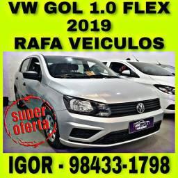 VW GOL 1.0 FLEX 2019 NA RAFA VEICULOS FALAR COM IGOR hhcd