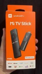 Mi Tv Stick Xiaomi Android Full Hd Original Lacrado / Chomecast integrado