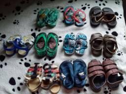 Sapatos pra criança