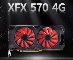 Placa de vídeo xfx rx 570 edition 4gb