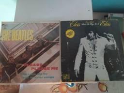 LP de Elvis e The Beatles