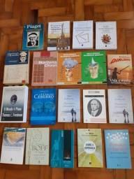 Livros de teologia/ filosofia/pedagogia