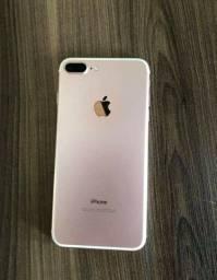 Apple , iphone 7plus rose 128gb