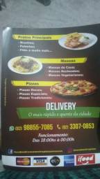 Pizza e massas faça seu pedido