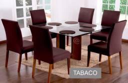 Kit 6 capas de cadeira de jantar