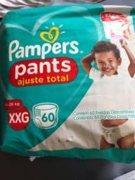 Fralda pampers pants xxg