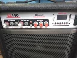 Caixa de som ll áudio ll140 bluetooth Bivolt