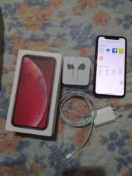 iPhone xr 64gb red (aceito iPhone 11 128gb zero)