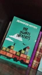 Livro por lugares incríveis Jennifer Niven