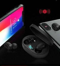 Fone Ouvido Digital True Esporte Bluetooth 5.0 E6s Tws: Android e IOS