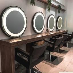 Espelhos com Led Redondos