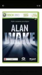 Jogo Alan Wake original xbox 360!