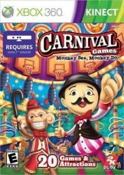 Carnival Games - Jogo Original Xbox 360 - Usado