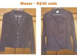 Blazers - R$30