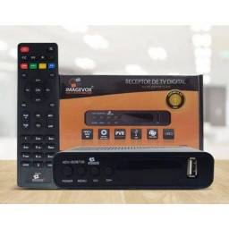 Conversor de tv para sinal digital full hd - NOVO