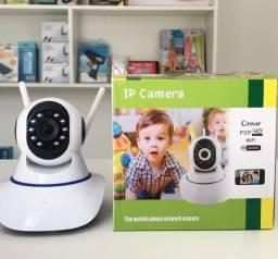 Câmera De Segurança Ip HD Infravermelho 3 Antenas