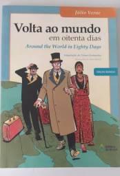 A Volta ao Mundo em 80 Dias - edição bilíngue - Júlio Verne