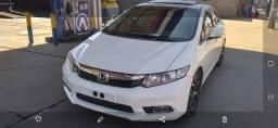 Título do anúncio: Honda civic 1.8 2012/2012 o top c teto