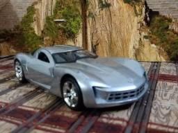 Corvette Stingray Concept 2009 1:32 Jada Toys Prata
