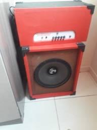 Título do anúncio: Caixa e amplificador