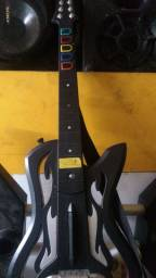 Guitarra do PS3+ bateria do Xbox sem as banquetas