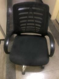 Cadeira tela escritório