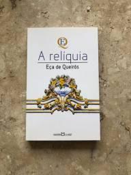 Livro A Relíquia, de Eça de Queiroz