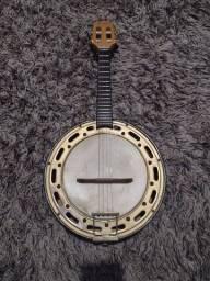Título do anúncio:  Banjo rosini profissional elétrico RJ 13 eln