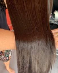 Aplique para cabelo removível