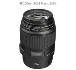 Lente Canon Ef 100MM F/2.8 Macro Usm (NOVA)
