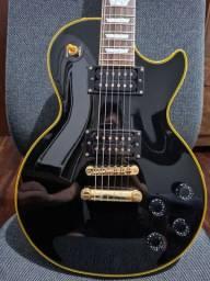 Guitarra Epiphone Les Paul Custom Classic Black - edição limitada