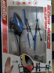 Helicóptero Sensor Infravermelho  Recarregável