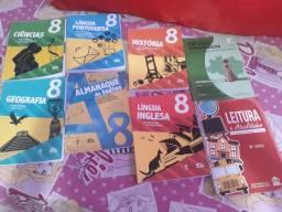 Livros novos da Escola Adventista 8°ano