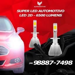 Kit Super LED 2D Automotivo ? Temos para todos os carros #nf vendas 2021