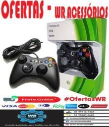 Controle Xbox 360 e PC Com Fio-ENTREGA GRÁTIS
