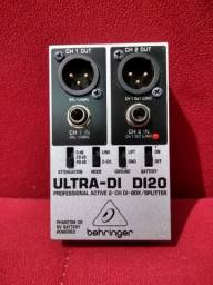Direct box Behringer ativo ultra DI-20
