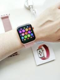 Smartwatch Iwo 12 Lite Monitora Batimentos Cardíacos Atende Ligação Pulseira Fitness