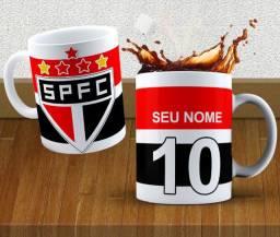 Caneca São Paulo Times 325ml #. Frtbj Avzvu