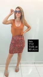 Saia TVZ TAM. 36 R$ 28,00