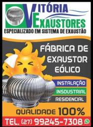 Exaustor Eólico Industrial Residencial