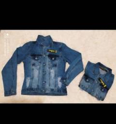 JAQUETA jeans 65 reais