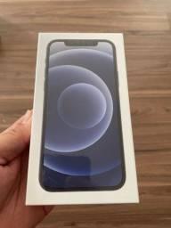 iPhone 12 128gb preto lacrado - parcelo no cartão
