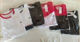 Camisas peruana malha pima