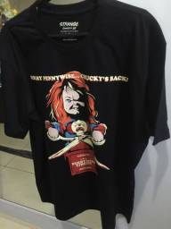 Camiseta masculina Nova Promoção