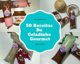 Livro de receitas de Geladinho Gourmet