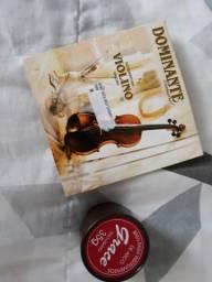 Cordas e Breu para violino