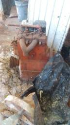 Motor do trator FENDT FARMER DIESEL