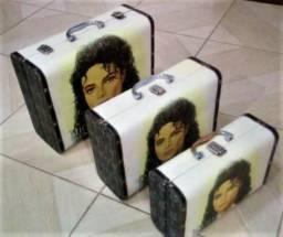 Conjunto de maletas Michael Jackson
